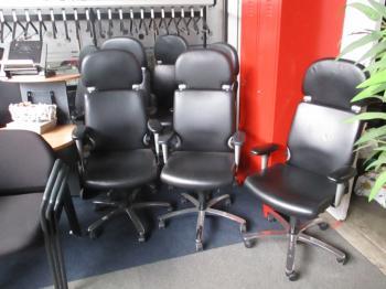bureaustoel comforto leer 24 H stoel