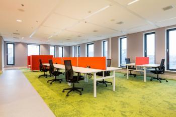 Nieuwe kantoormeubels van Orange Office.